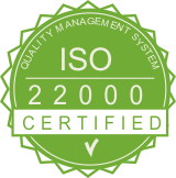 ISO 22000 badge